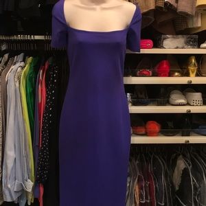 🔴 LAUNDRY BY SHELLI SEGAL PURPLE DRESS